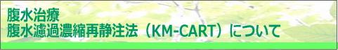 KM-CART 腹水治療