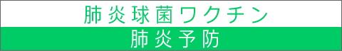 肺炎予防ワクチン 姫路